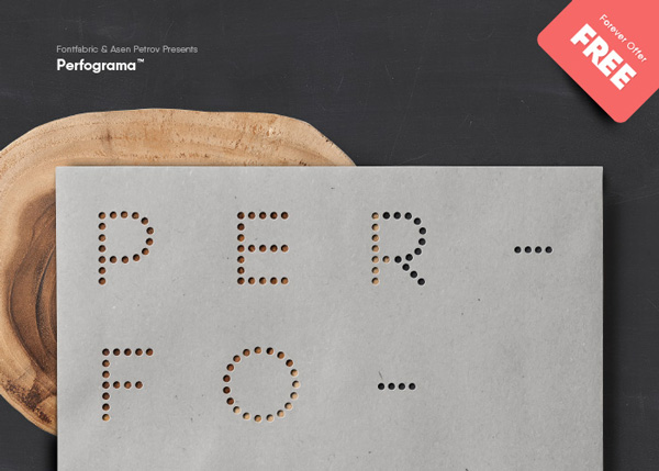 1.Free-Font-Of-The-Day-Perfograma