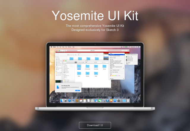 UI Kit Yosemite