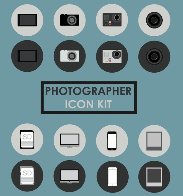 photographer-icons