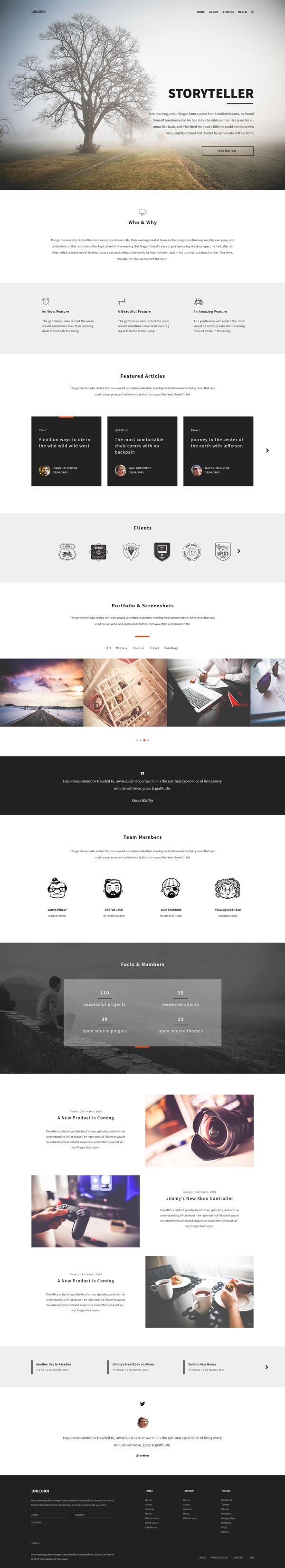 Moderno Plantillas Web Photoshop Bosquejo - Ejemplo De Colección De ...
