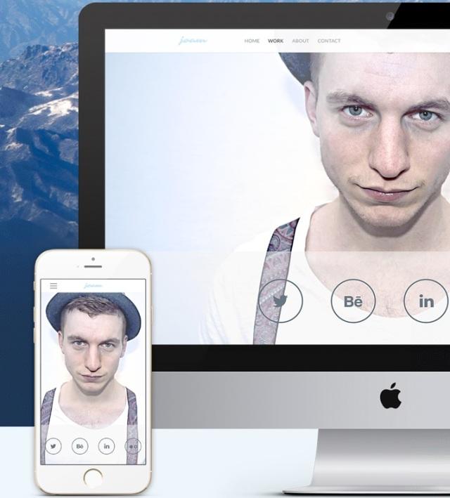 Freelancer Photographer theme