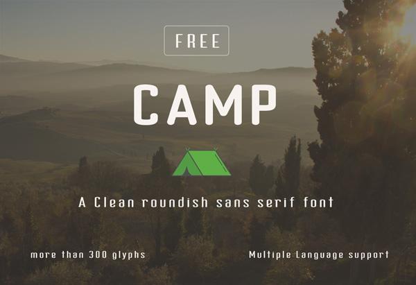 Free Font Camp