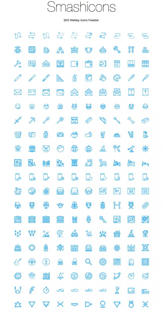 webby-icons-freebie
