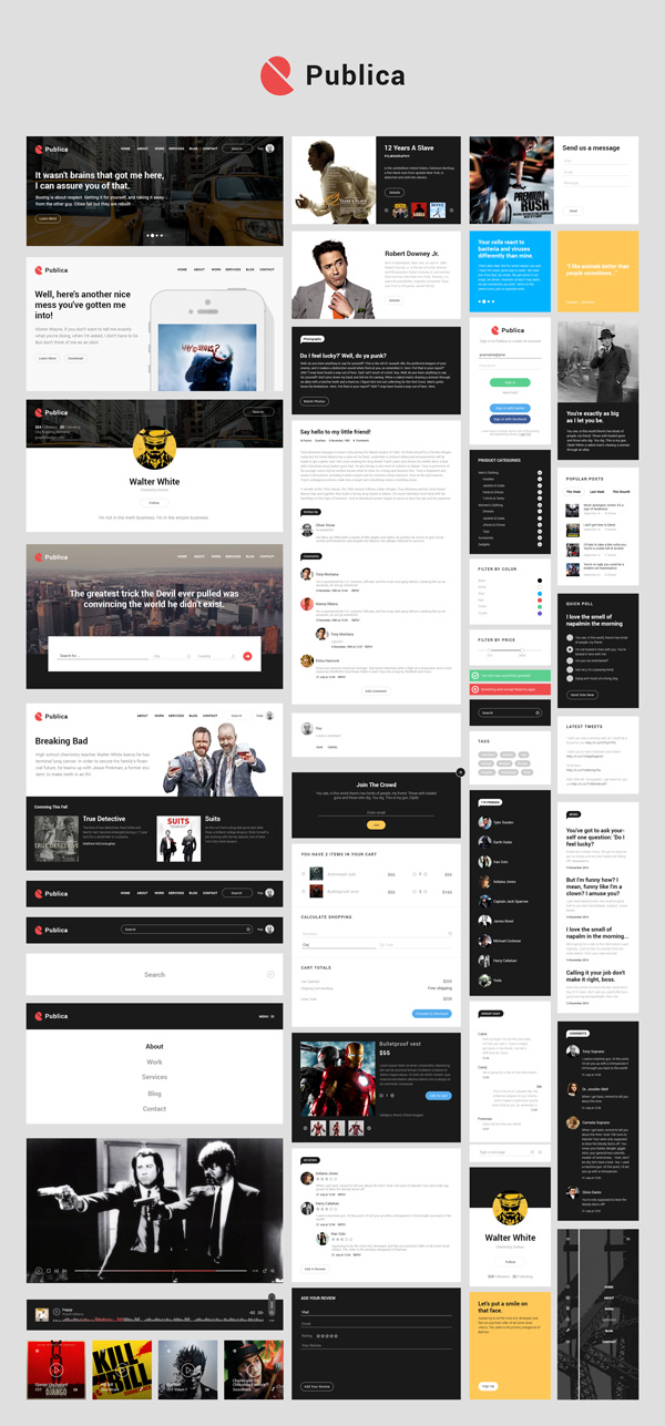 Ui Kit diseño web
