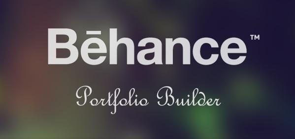 Behance Portfolio Builder