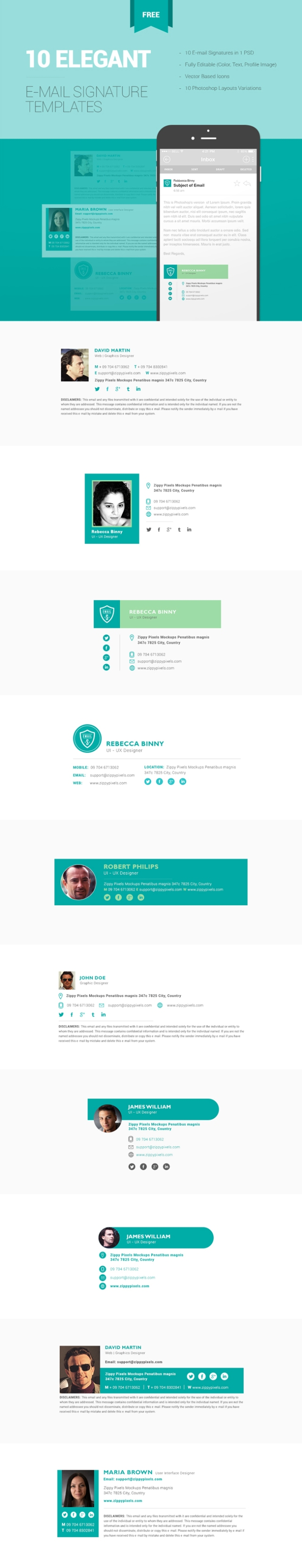 Free-email-signature-templates