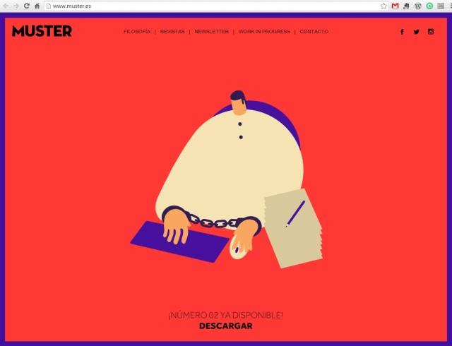 Muster, revista de diseño gratis