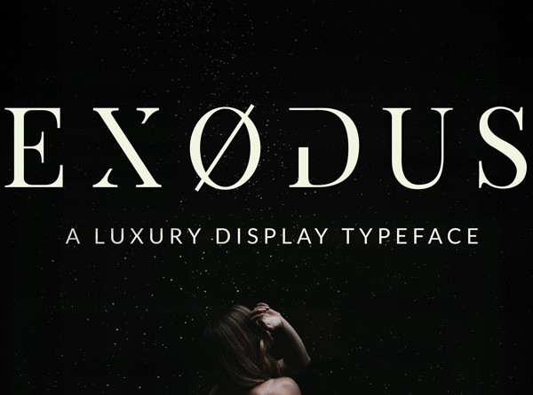 1.Free-Font-Of-The-Day-Exodus