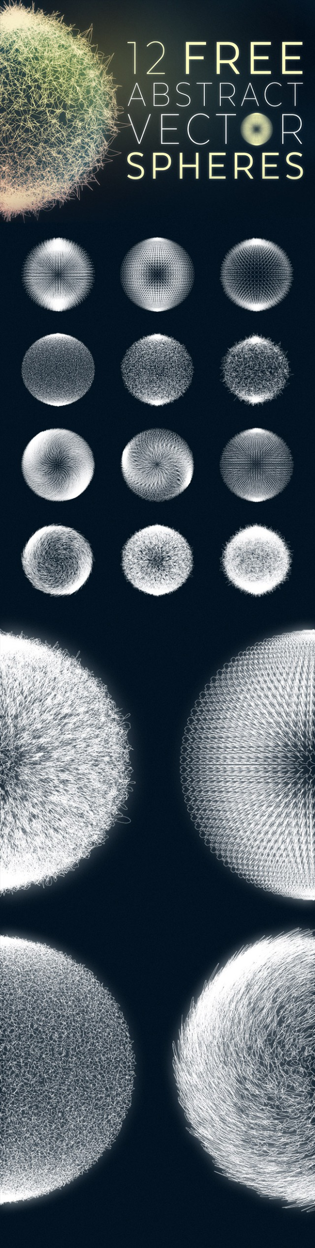 12-free-abstract-vector-spheres