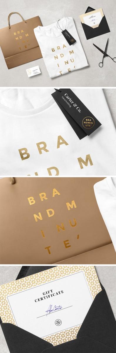 Mockup para branding de ropa GRATIS
