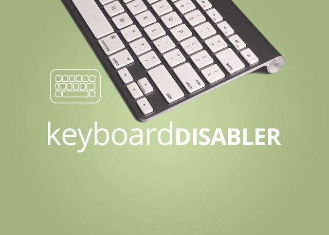 Keyboard disabler for adobe muse