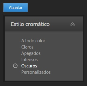 Adobe color cc 2 estilos