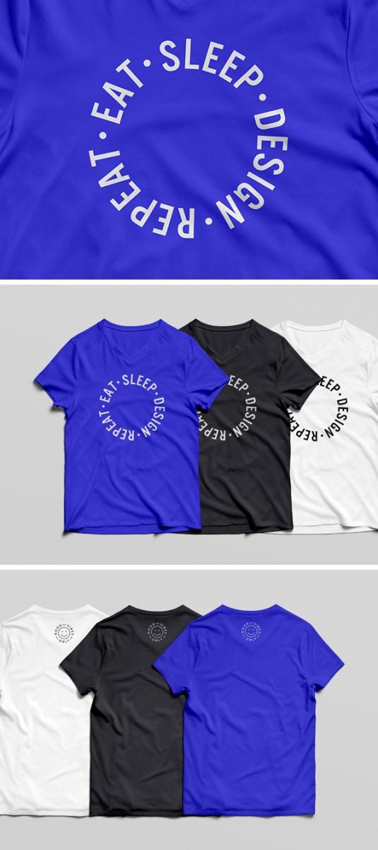 Mockup para camisetas